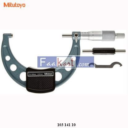 Picture of 103-141-10 Mitutoyo Outside Micrometer, Size: 100-125 mm