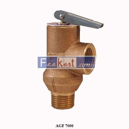 "Picture of AGF 7000  1/2"" pressures relief valve rated @ 175P"