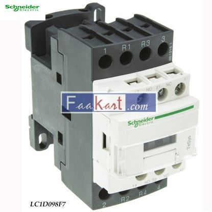 Picture of LC1D098F7  TeSys D contactor