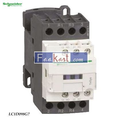 Picture of LC1D098G7  TeSys D contactor