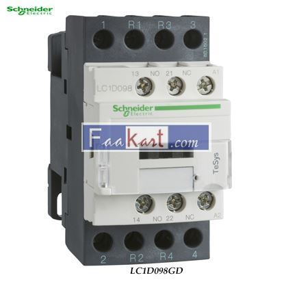 Picture of LC1D098GD  TeSys D contactor