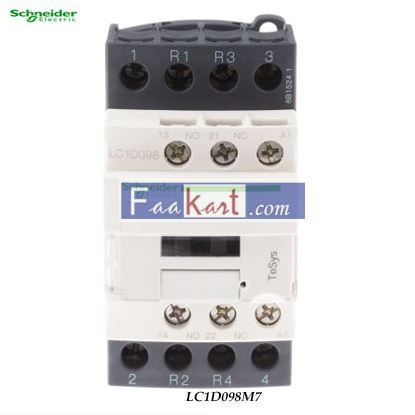 Picture of LC1D098M7  TeSys D contactor