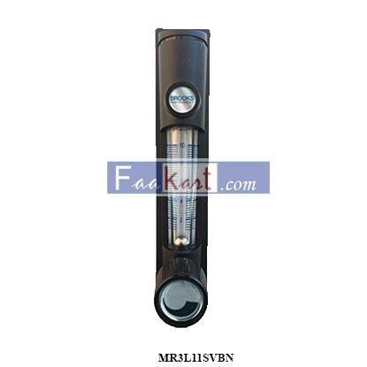 "Picture of MR3L11SVBN Brooks Instrument Flowmeter 20-300 CCM Water, 4% F.S., 1/8"" FNPT SS Ftg, Inlet Valve"