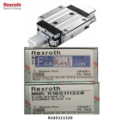 Picture of R165111320 REXROTH Runner Blocks MADE CHINA