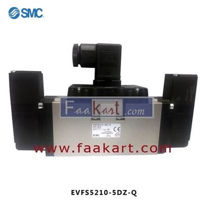 Picture of EVFS5210-5DZ-Q - SMC SOLENOID VALVE 5 PORT
