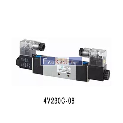 "Picture of 4V230C-08 AC220V-1/4"", Solenoid Valve for Air"