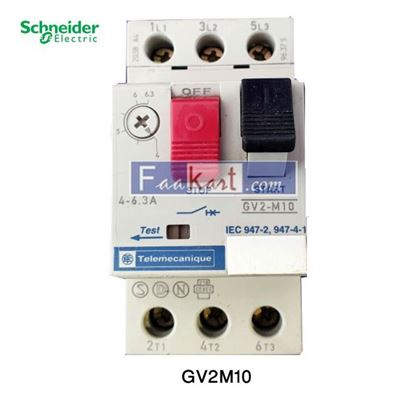 Picture of GV2M10 Telemecanique Motor Circuit Breaker,