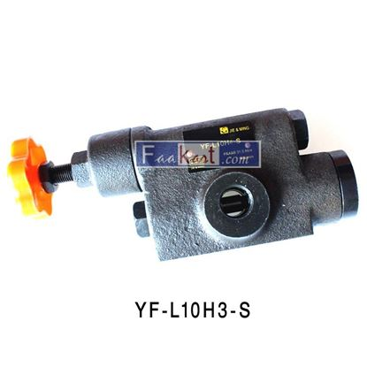 Picture of YF-L10H3-S HYDRAULIC RELIEF VALVE PRESSURE REGULATOR