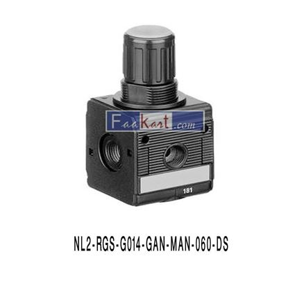 Picture of 0821302409, (NL2-RGS-G014-GAN-MAN-060-DS) AIR REGULATOR- AVENTICS
