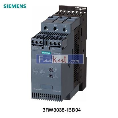 Picture of 3RW3038-1BB04 Siemens SIRIUS  Soft Starter