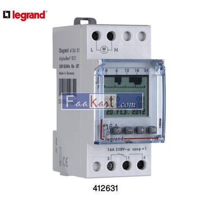 Picture of Legrand 412631 Digital Programmable time switch