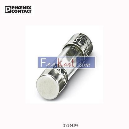 Picture of 2726104 Phoenix Contact - Fuse - SI 5X20 6,3 A T DIN 41662