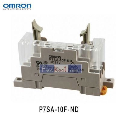 Picture of P7SA-10F-ND DC24 Omron 10 Pin Relay Socket