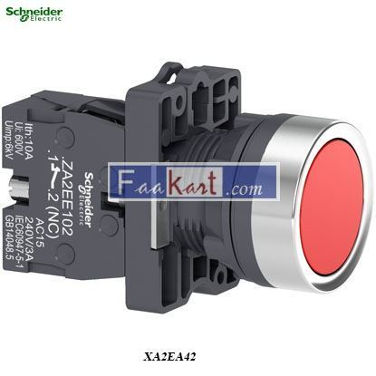 Picture of XA2EA42  Round red push-button