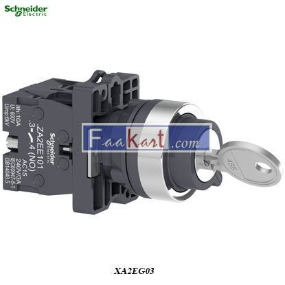 Picture of XA2EG03  Key selector switch