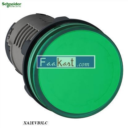 Picture of XA2EVB3LC  Round pilot light Ø 22 - green