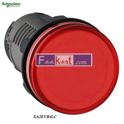 Picture of XA2EVB4LC  Round pilot light Ø 22 - red
