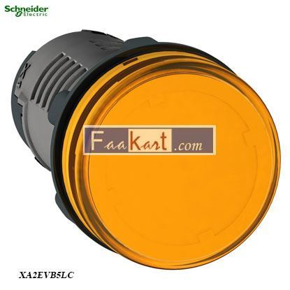 Picture of XA2EVB5LC  Round pilot light Ø 22- orange