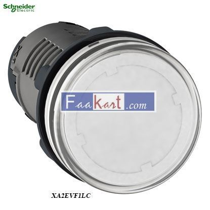 Picture of XA2EVF1LC  Round pilot light Ø 22 - white
