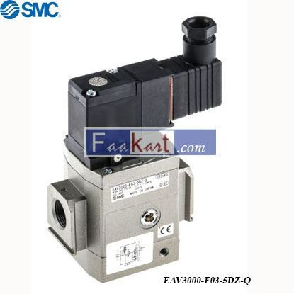 Picture of EAV3000-F03-5DZ-Q  Pneumatic Soft Start Valve