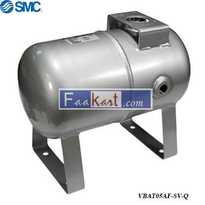 Picture of VBAT05AF-SV-Q  Air Tank with safety valve and drain