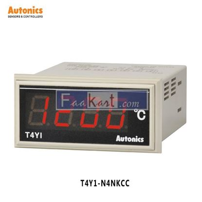 Picture of T4Y1-N4NKCC Autonics Temperature Indicator