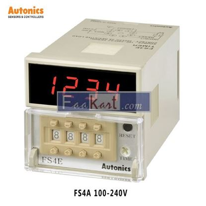 Picture of FS4A 100-240VAC Autonics Digital Counter