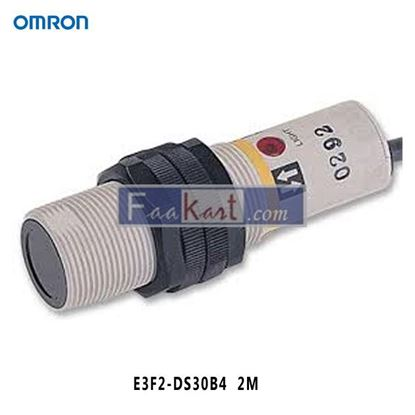 Picture of E3F2-DS30B4 2M OMRON Photoelectric Sensor