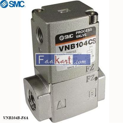 Picture of VNB104B-F6A  2 port air pilot process Valve