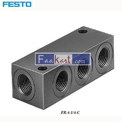 Picture of FR-4-1 4-C FESTO distributor block