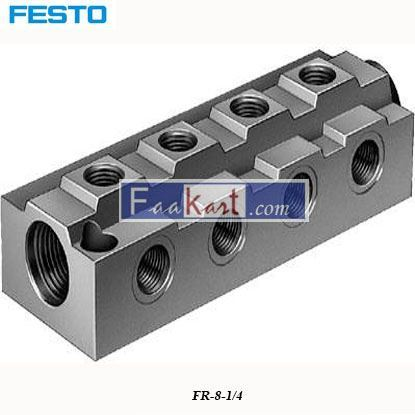 Picture of FR-8-1 4  FESTO distributor block