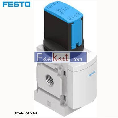 Picture of MS4-EM1-1 4  FESTO Pneumatic Manual Control Valve