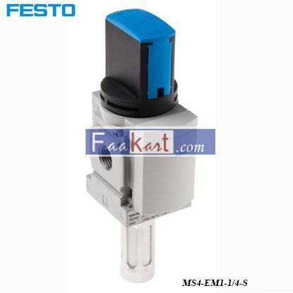 Picture of MS4-EM1-1 4-S  FESTO  Pneumatic Manual Control Valve