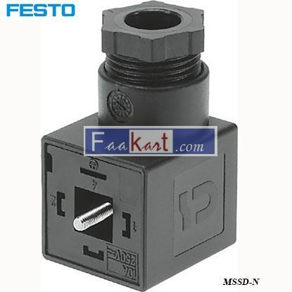 Picture of MSSD-N  Festo Pneumatic Solenoid Coil Connector