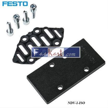 Picture of NDV-1-ISO  FESTO  Valve Manifold Cover plate