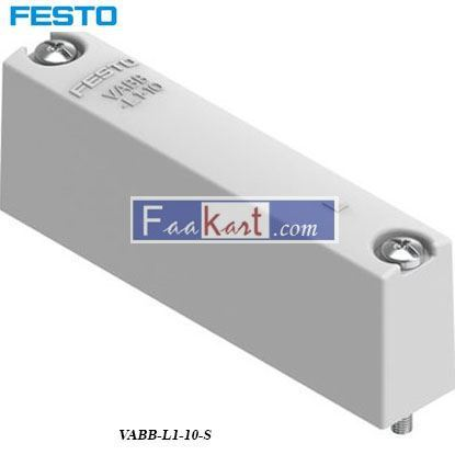 Picture of VABB-L1-10-S  FESTO Blanking Plate
