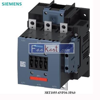 Picture of 3RT1055-6NP36-3PA0 Siemens Power contactor