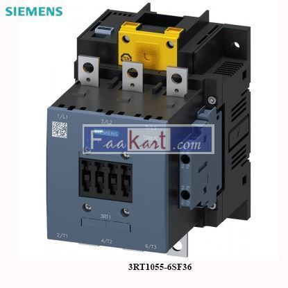 Picture of 3RT1055-6SF36 Siemens Power contactor