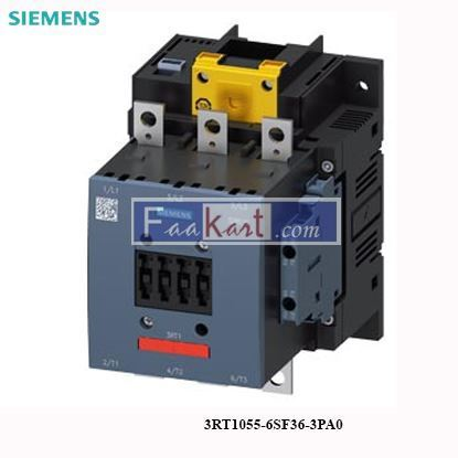 Picture of 3RT1055-6SF36-3PA0 Siemens Power contactor