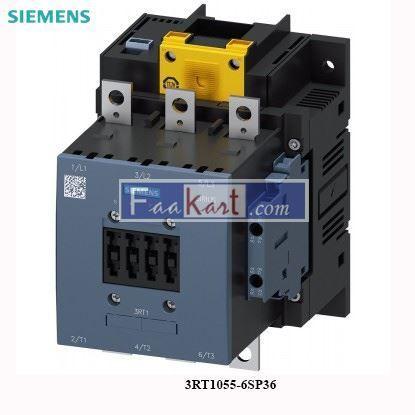 Picture of 3RT1055-6SP36 Siemens Power contactor
