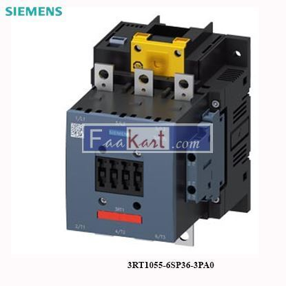 Picture of 3RT1055-6SP36-3PA0 Siemens Power contactor