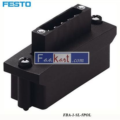 Picture of FBA-1-SL-5POL  FESTO Plug Connector