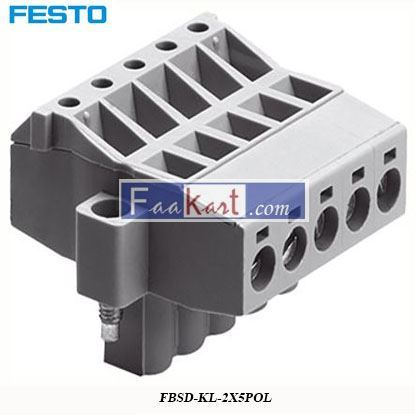 Picture of FBSD-KL-2X5POL   Festo Plug Connector