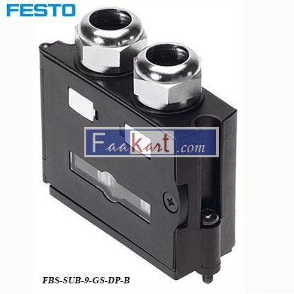 Picture of FBS-SUB-9-GS-DP-B  FESTO  Fieldbus Adapter