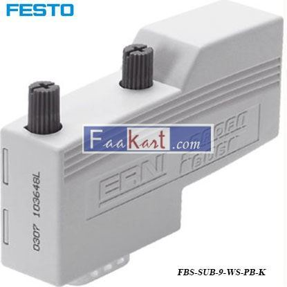 Picture of FBS-SUB-9-WS-PB-K  FESTO Motor Controller