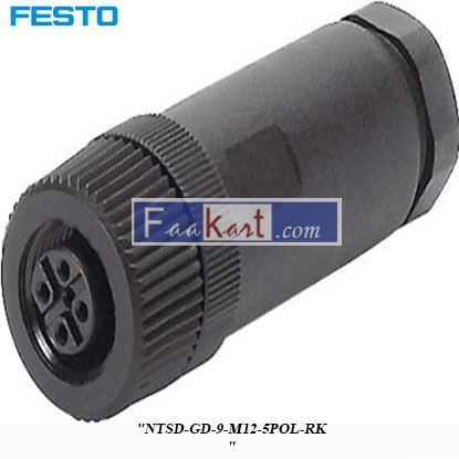 Picture of NTSD-GD-9-M12-5POL-RKB  FESTO  Plug Connector