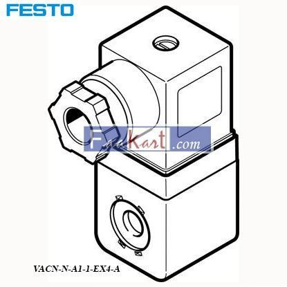 Picture of VACN-N-A1-1-EX4-A  FESTO Solenoid Coil
