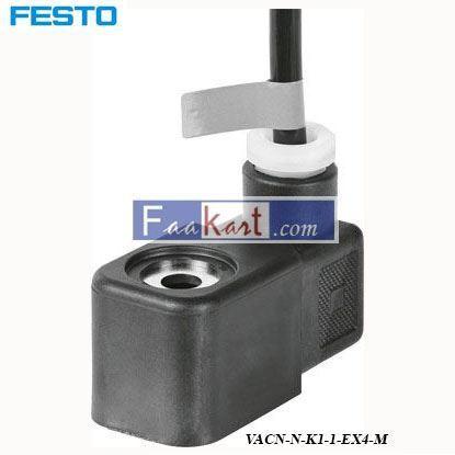 Picture of VACN-N-K1-1-EX4-M  FSETO Solenoid Coil