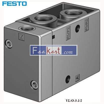 Picture of VL O-3-1 2Festo Connector Block Assembly