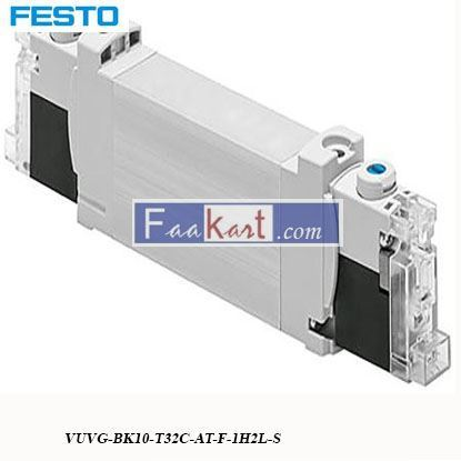 Picture of VUVG-BK10-T32C-AT-F-1H2L-S  FESTO   Pneumatic Control Valve